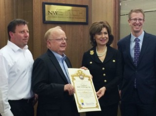 Congressman & Small Business Administration Award NW Etch